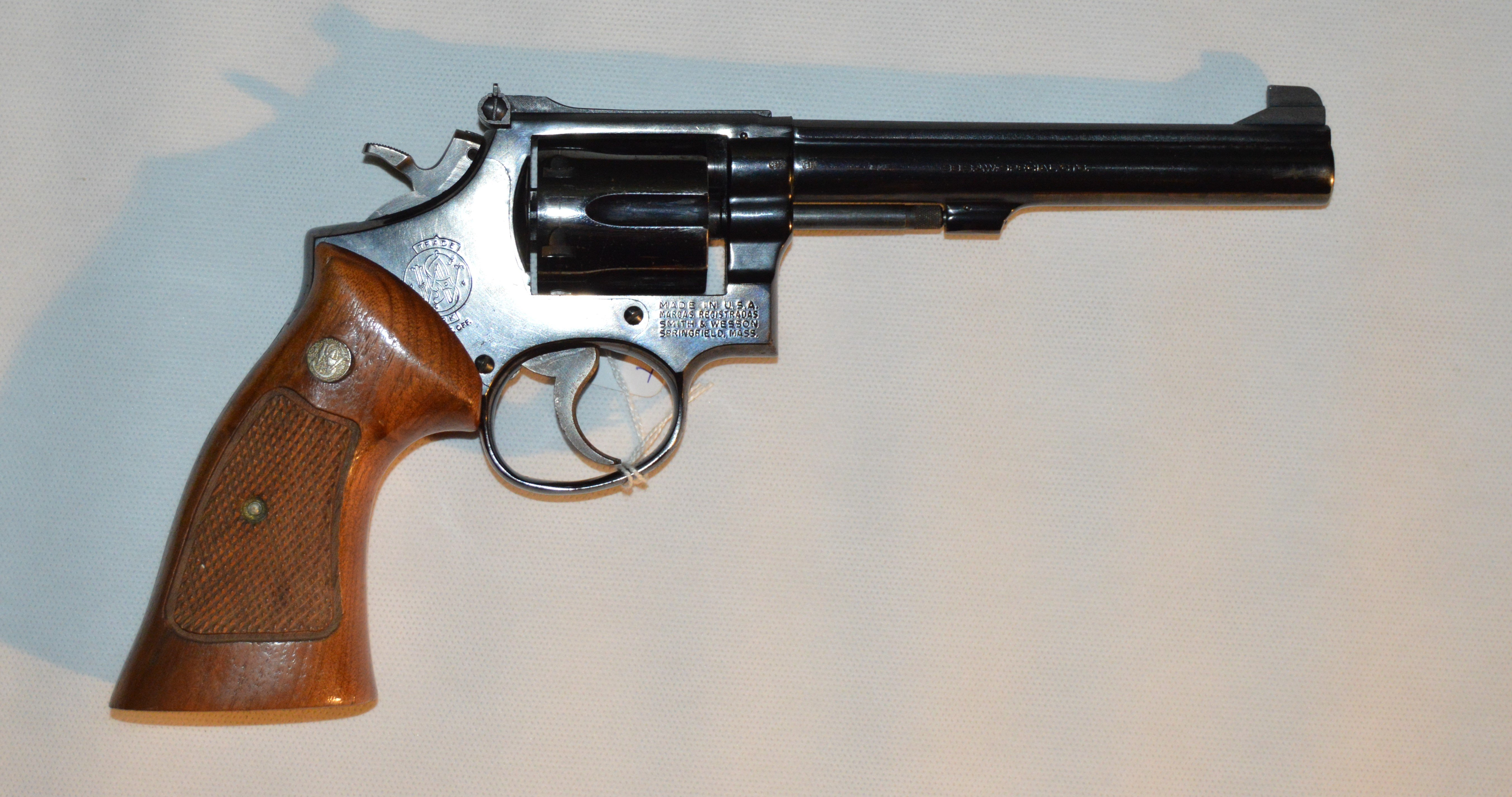 Smith & Wesson Mod. 14 kal. .38 Special