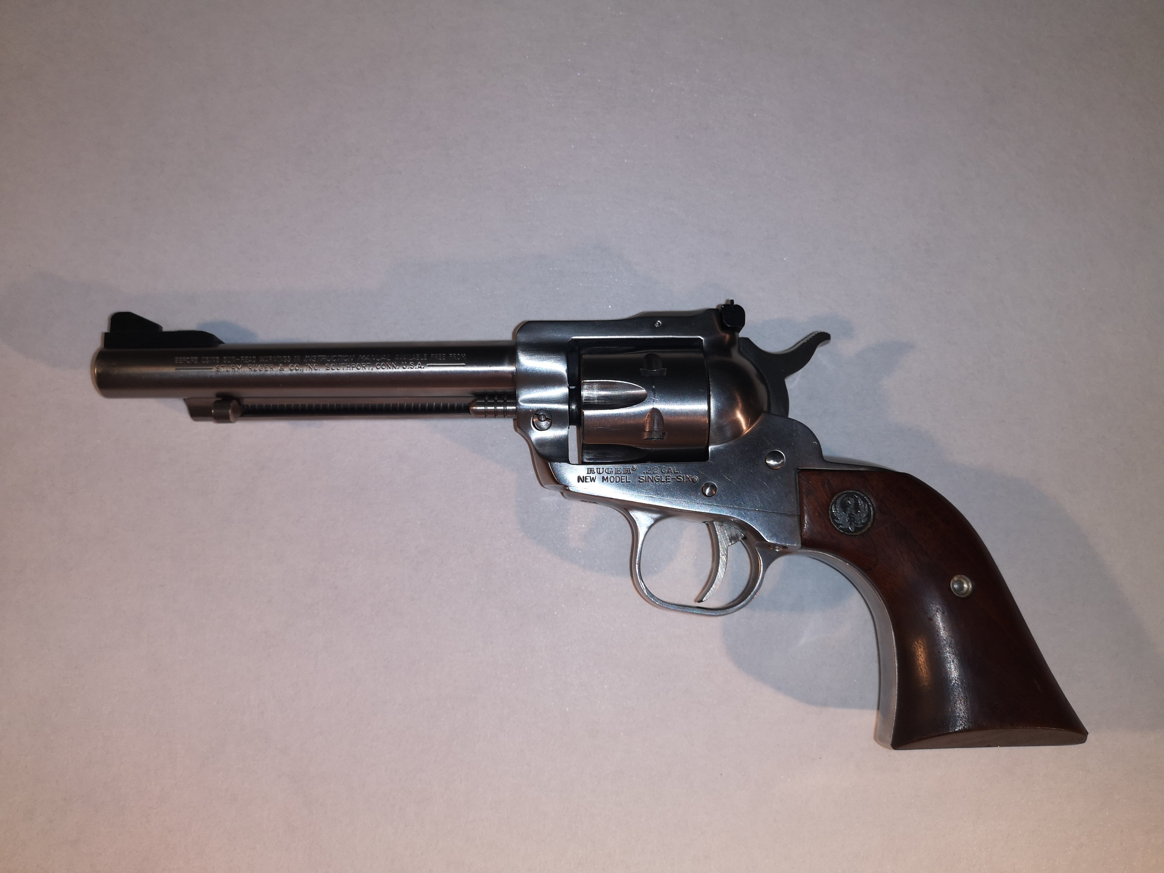 Ruger Single Six Stainless - kal. .22 LR.