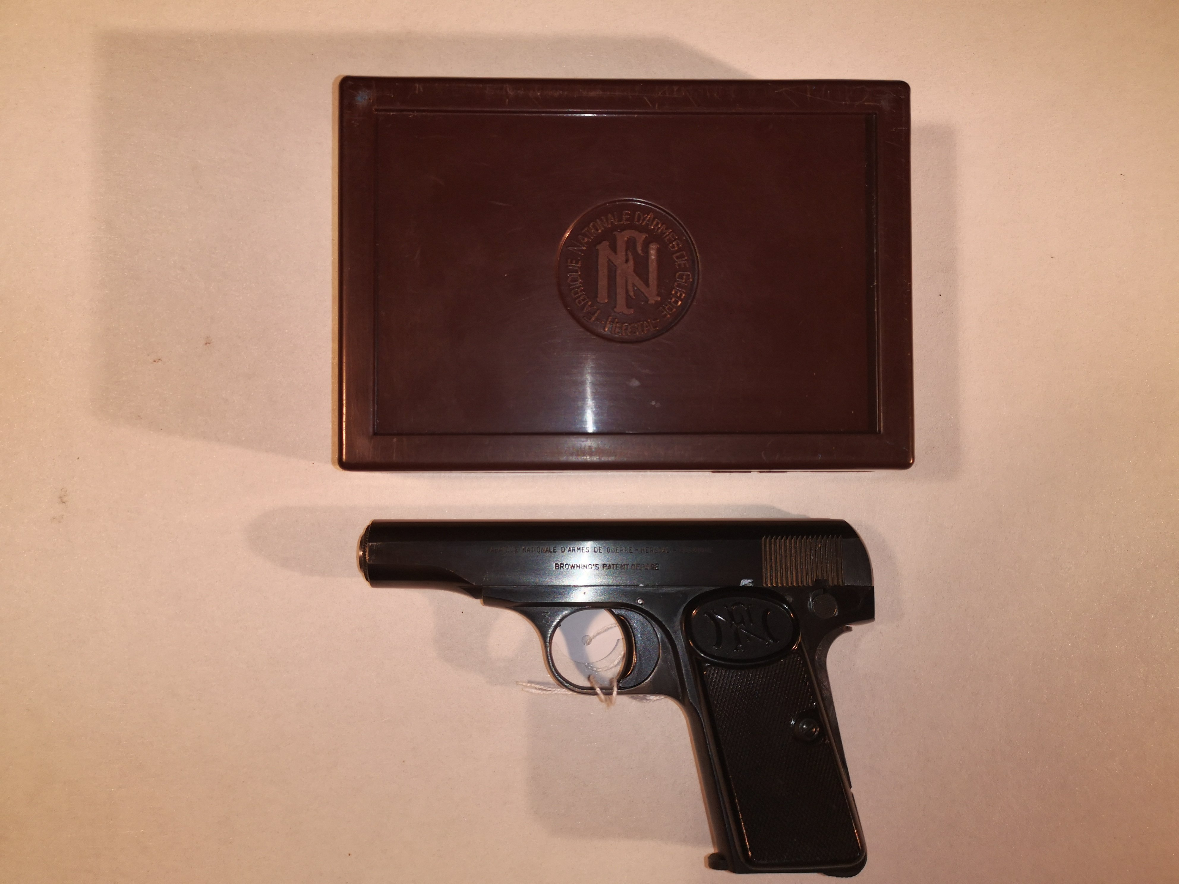 FN Model 1910 Originele doos - kal. 9mm Kort
