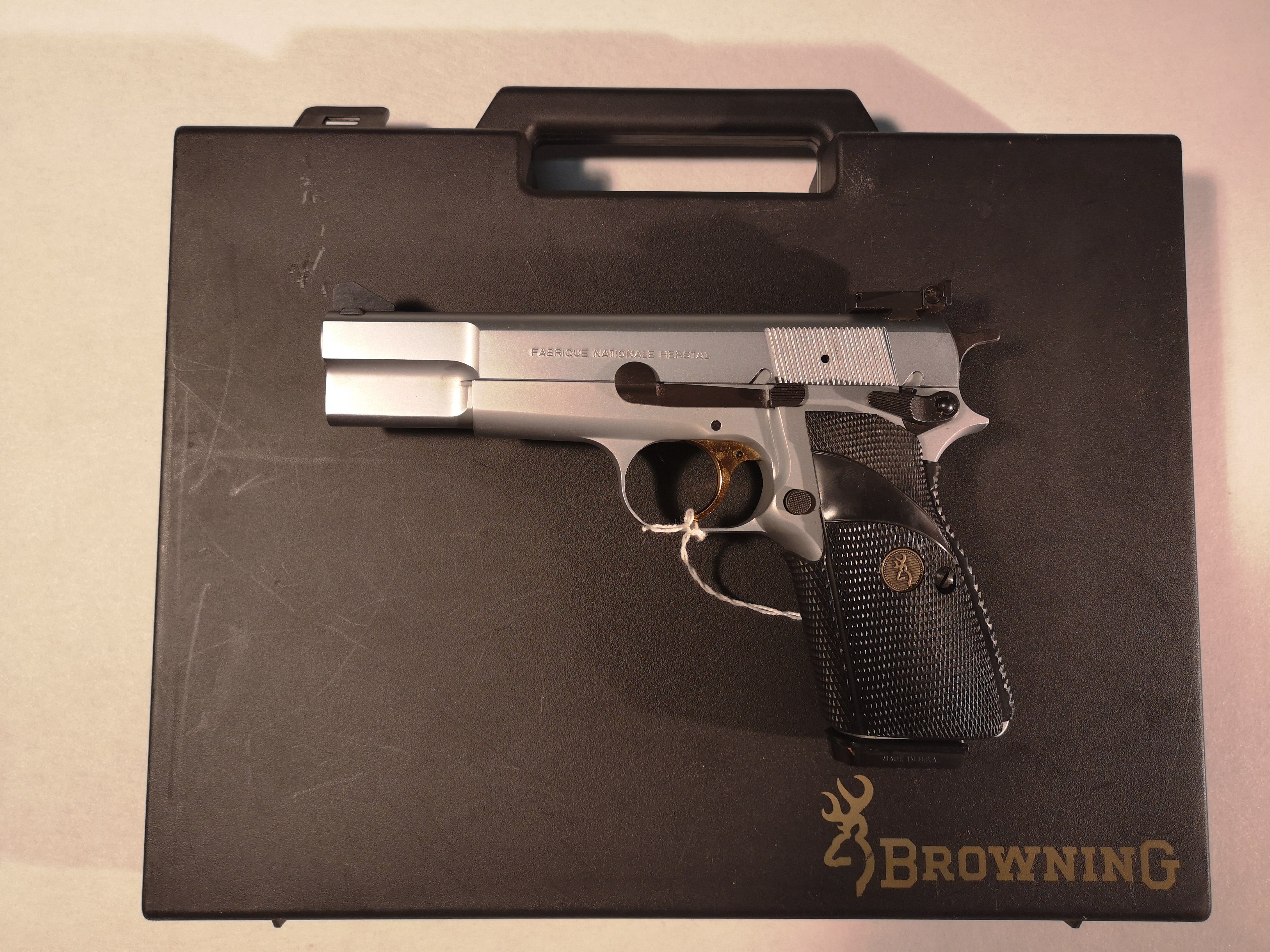 FN Browning Model Silver Chrome - kal. 9x19